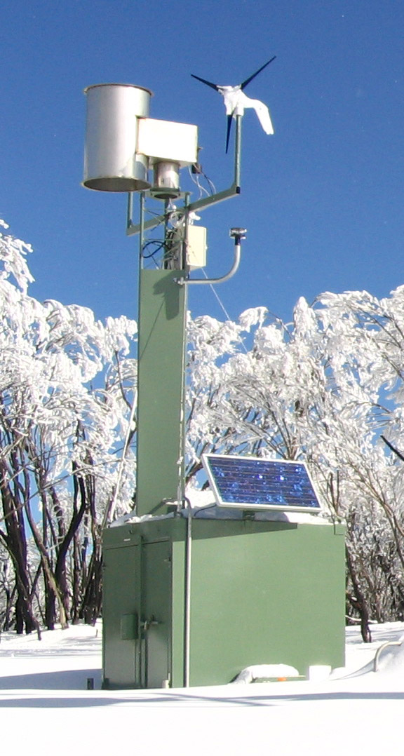 A typical cloud seeding generator